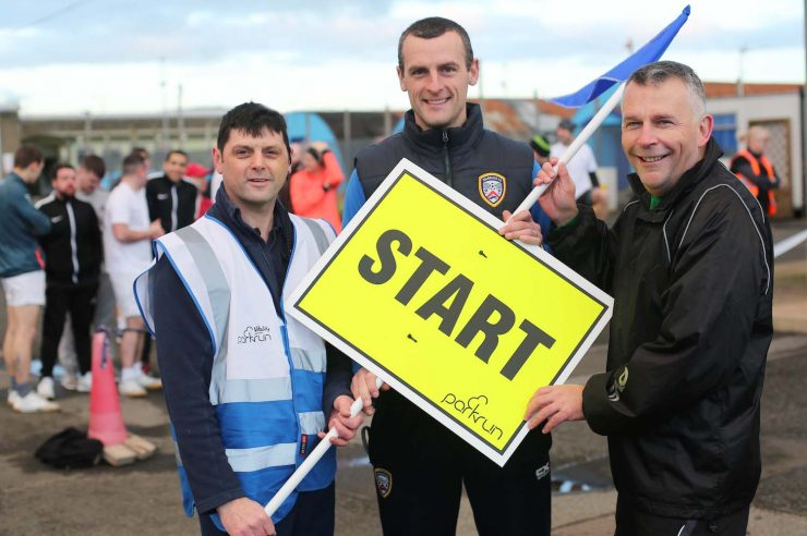 Image for Inmates take part in the first ever prison parkruns