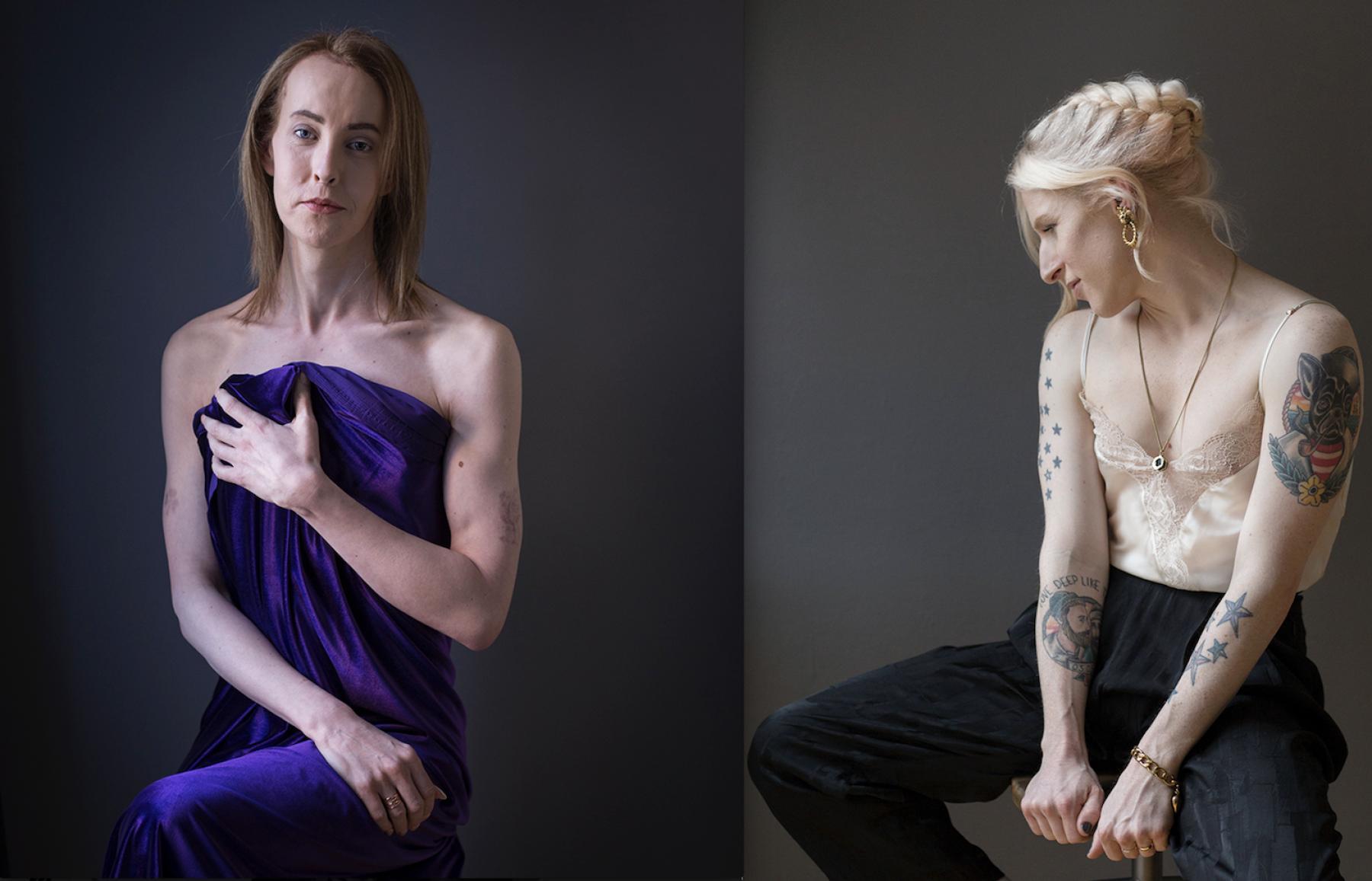 Image for Trans women shine in portrait exhibition