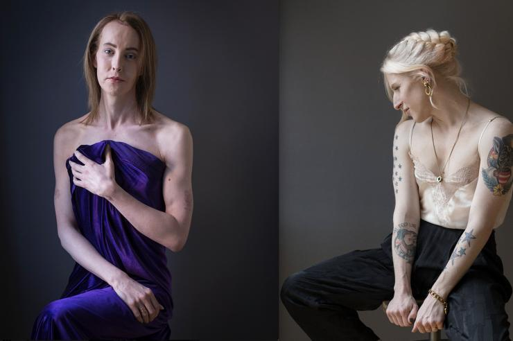 Image for Trans women shine in portrait exhibition