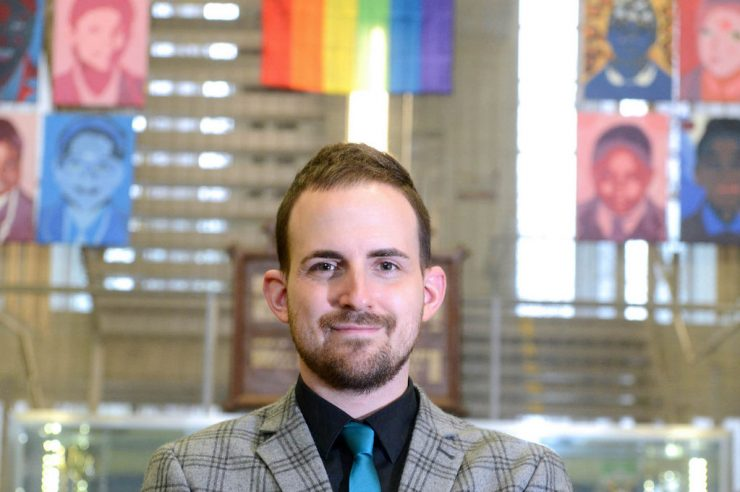 Image for Gay teacher launches network to support LGBT educators