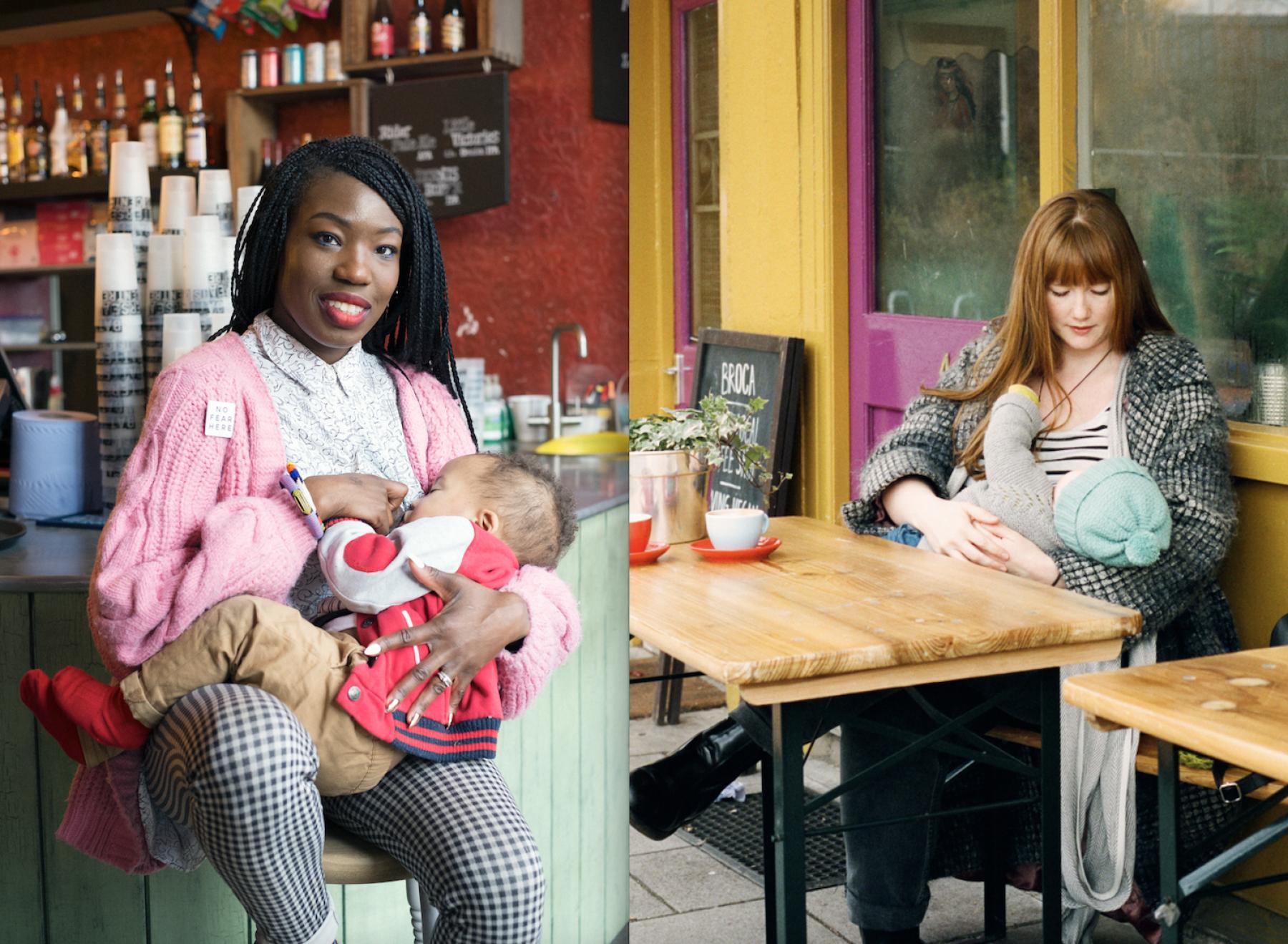 photo series challenges breastfeeding taboo positive news