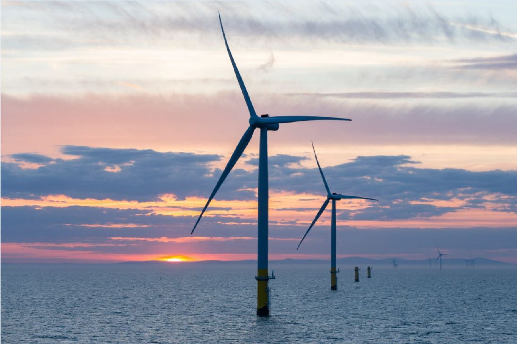 Image for World's largest offshore wind farm opens off Cumbria coast
