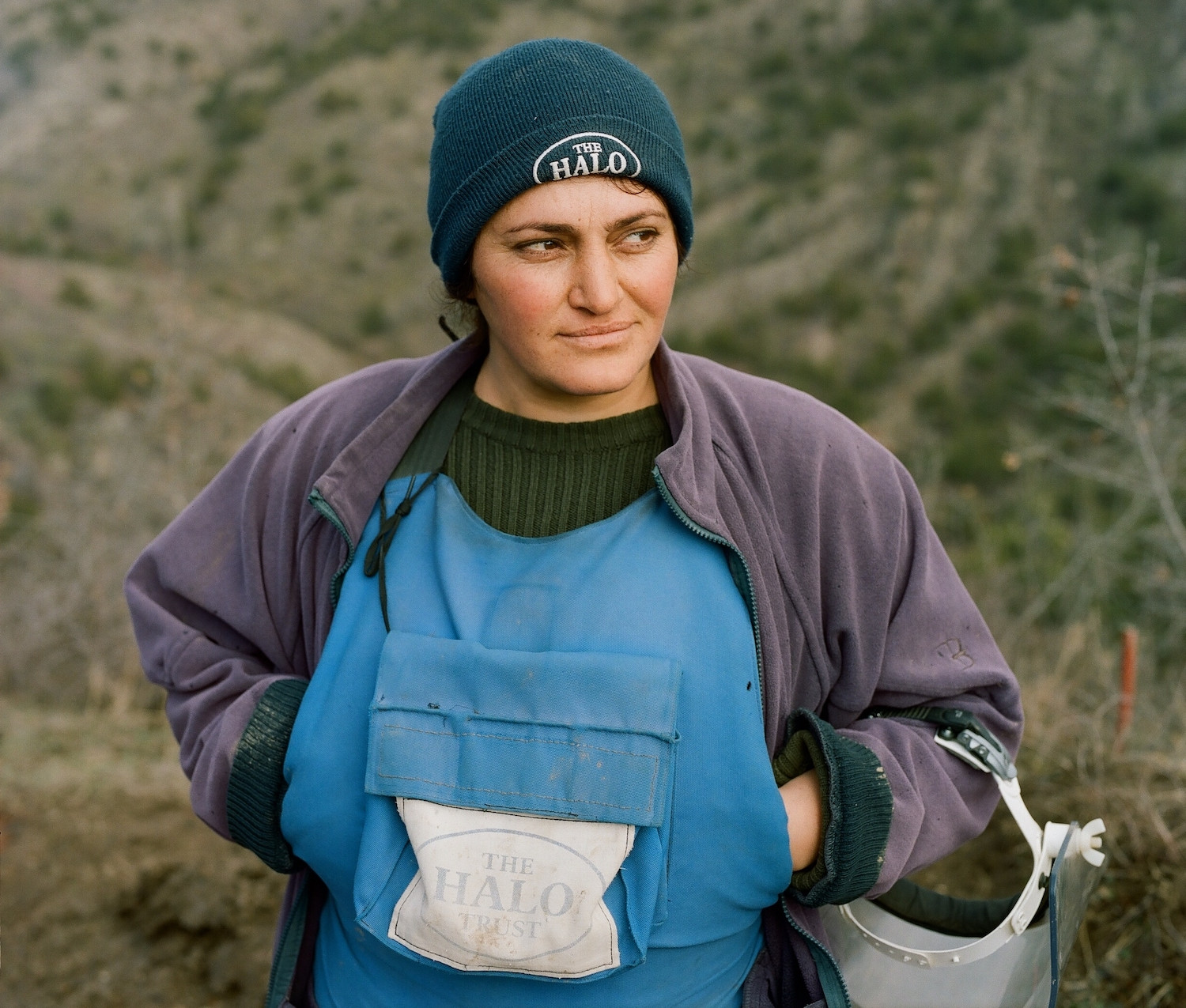 The women who remove deadly landmines