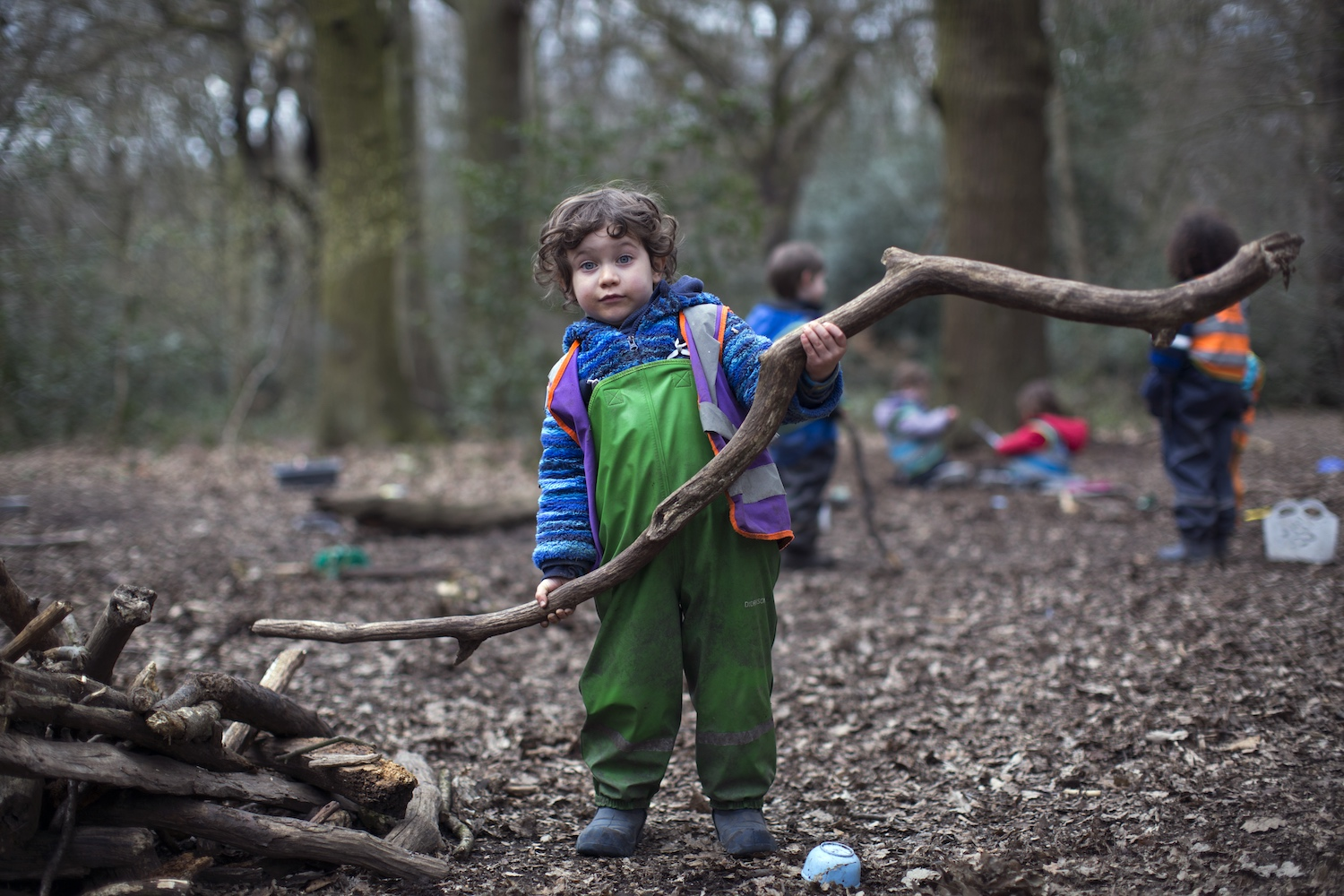 Learning outdoors: growing explorers, not robots