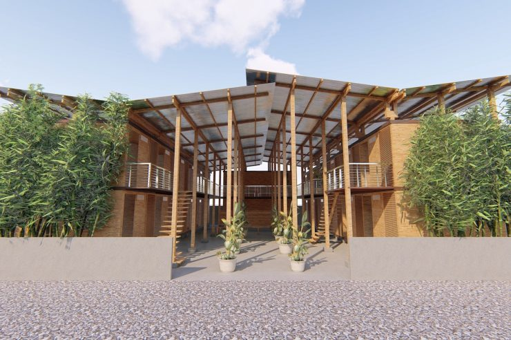 Image for Bamboo housing wins prestigious architecture award