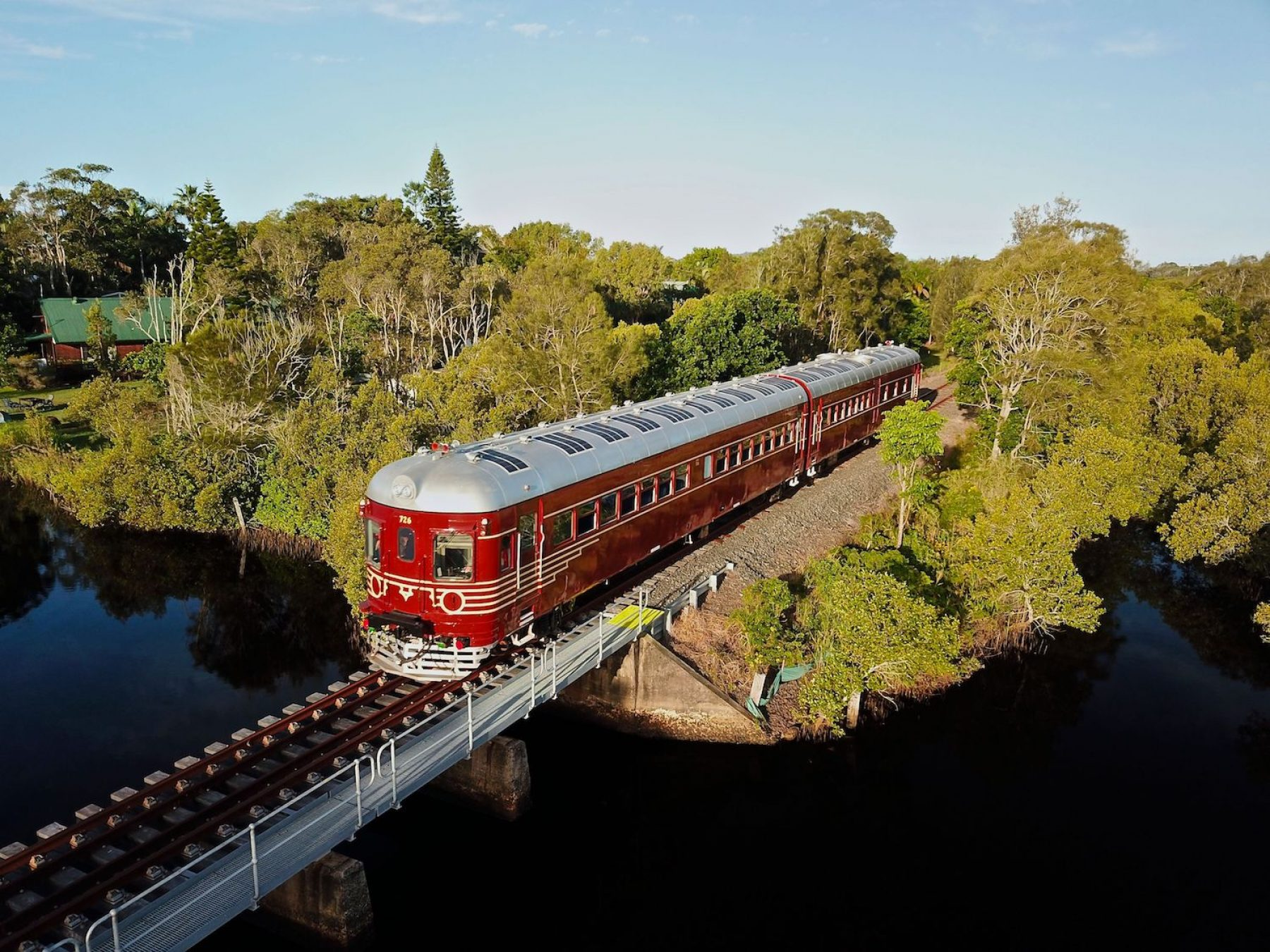 Image for Sunlight express: the solar-powered train