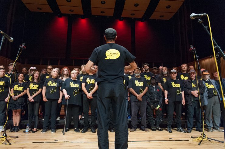 Image for Three good things: inspiring choirs and music groups