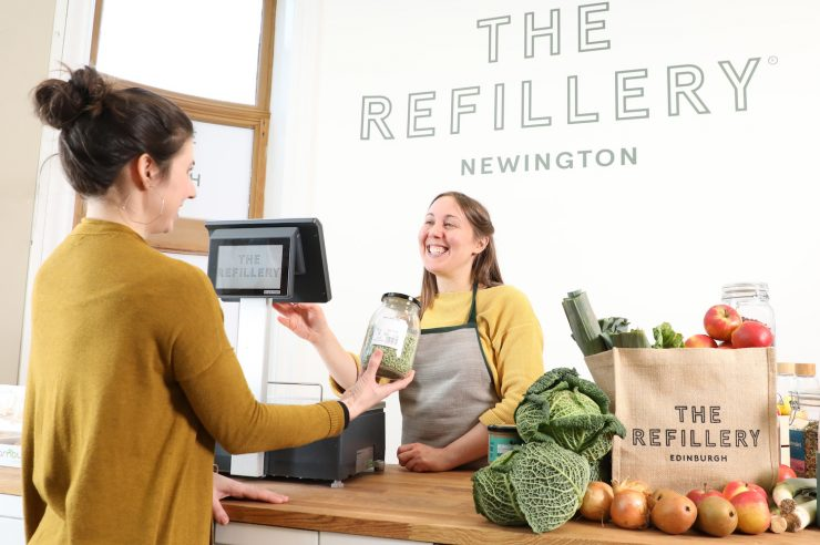 Image for Edinburgh plastic-free grocery shop join's the UK's zero-waste 'revolution'
