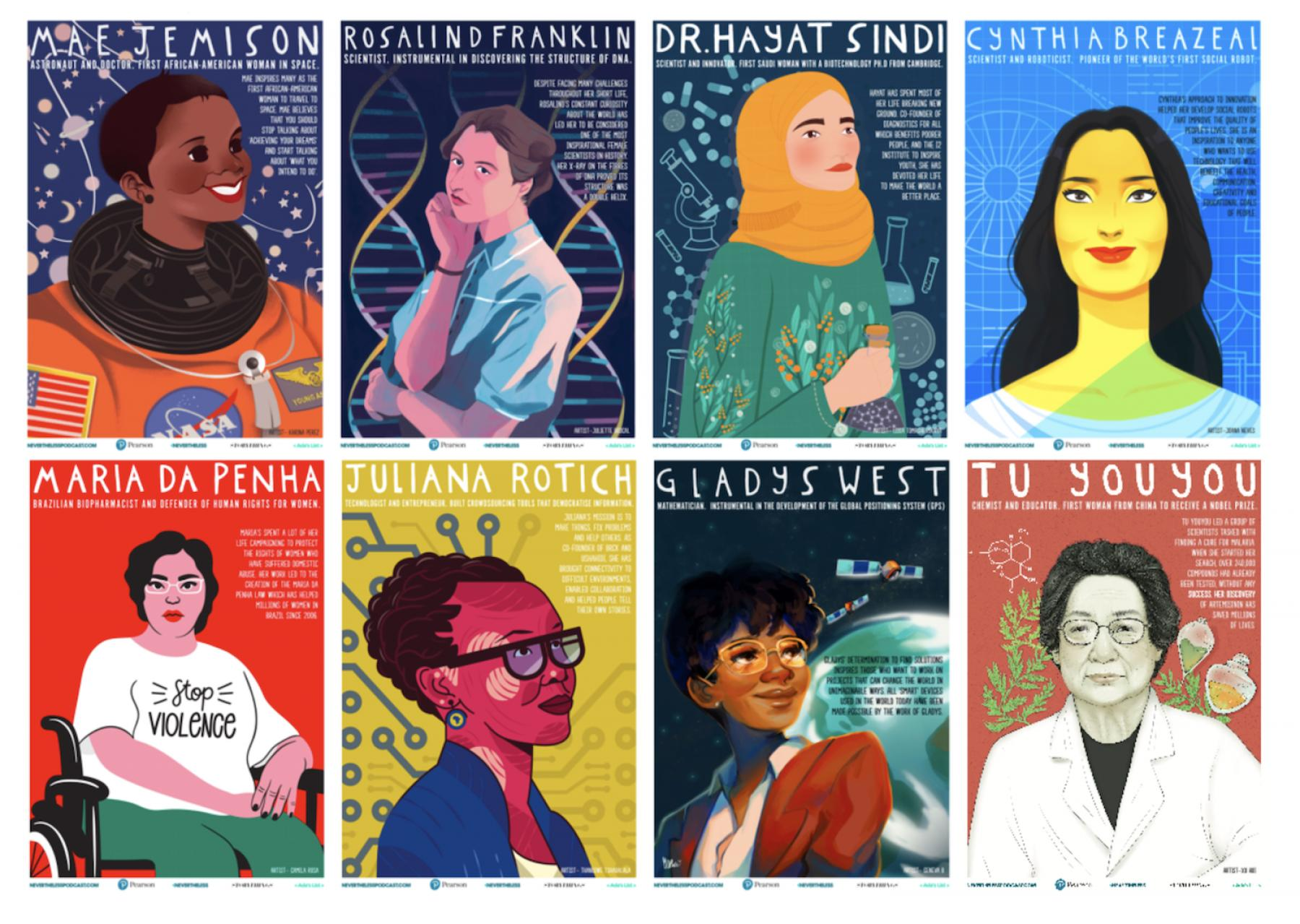 Image for STEM role model posters celebrate female innovators