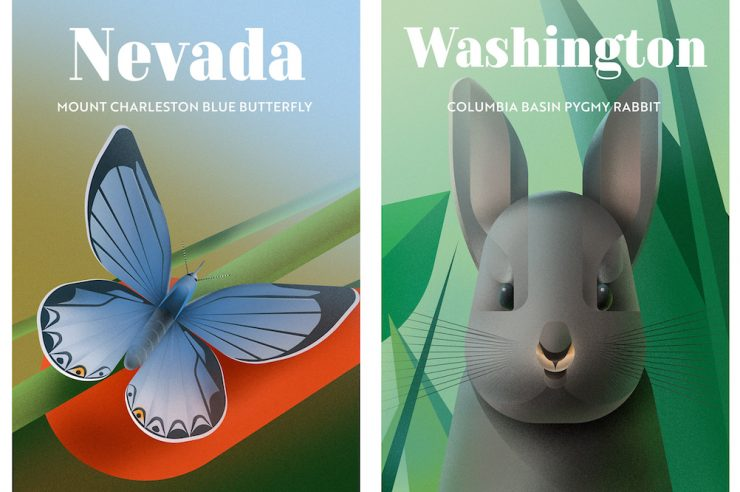 Image for Posters celebrate species under threat in the US