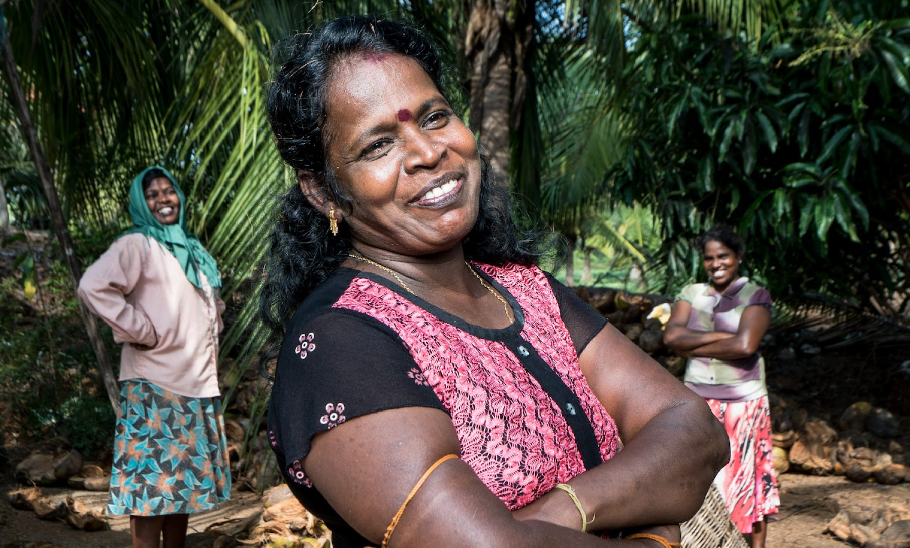 Image for Funding female entrepreneurs: the Sri Lankan coconut husk business owner