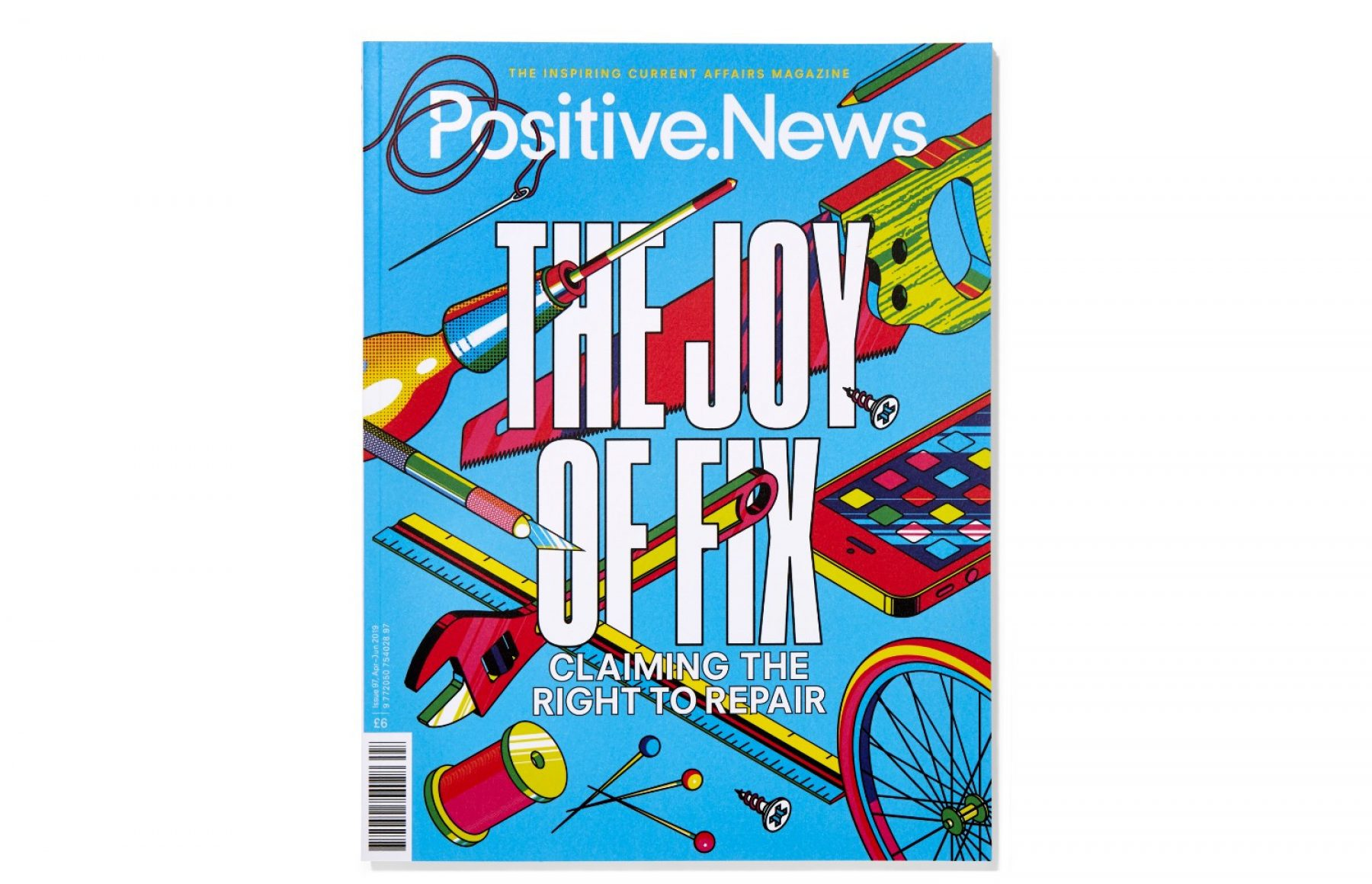 Image for 'Do something people': latest issue of Positive News magazine celebrates can-do attitude