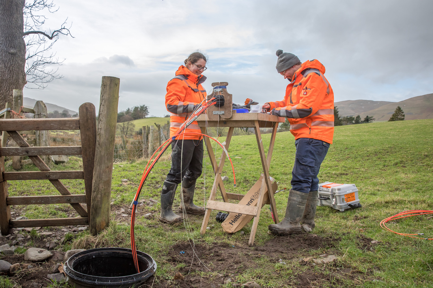 How the 'world's fastest' broadband is coming to rural UK communities that big providers won't touch