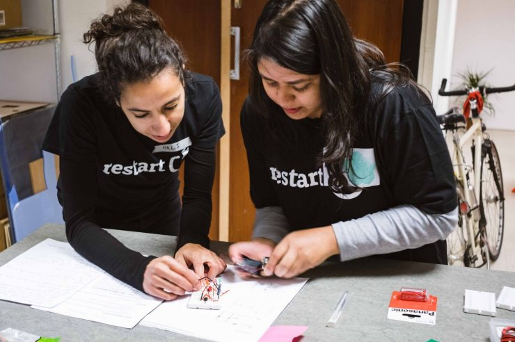 Image for On the mend: the organisation that helps people learn to repair their broken electronics