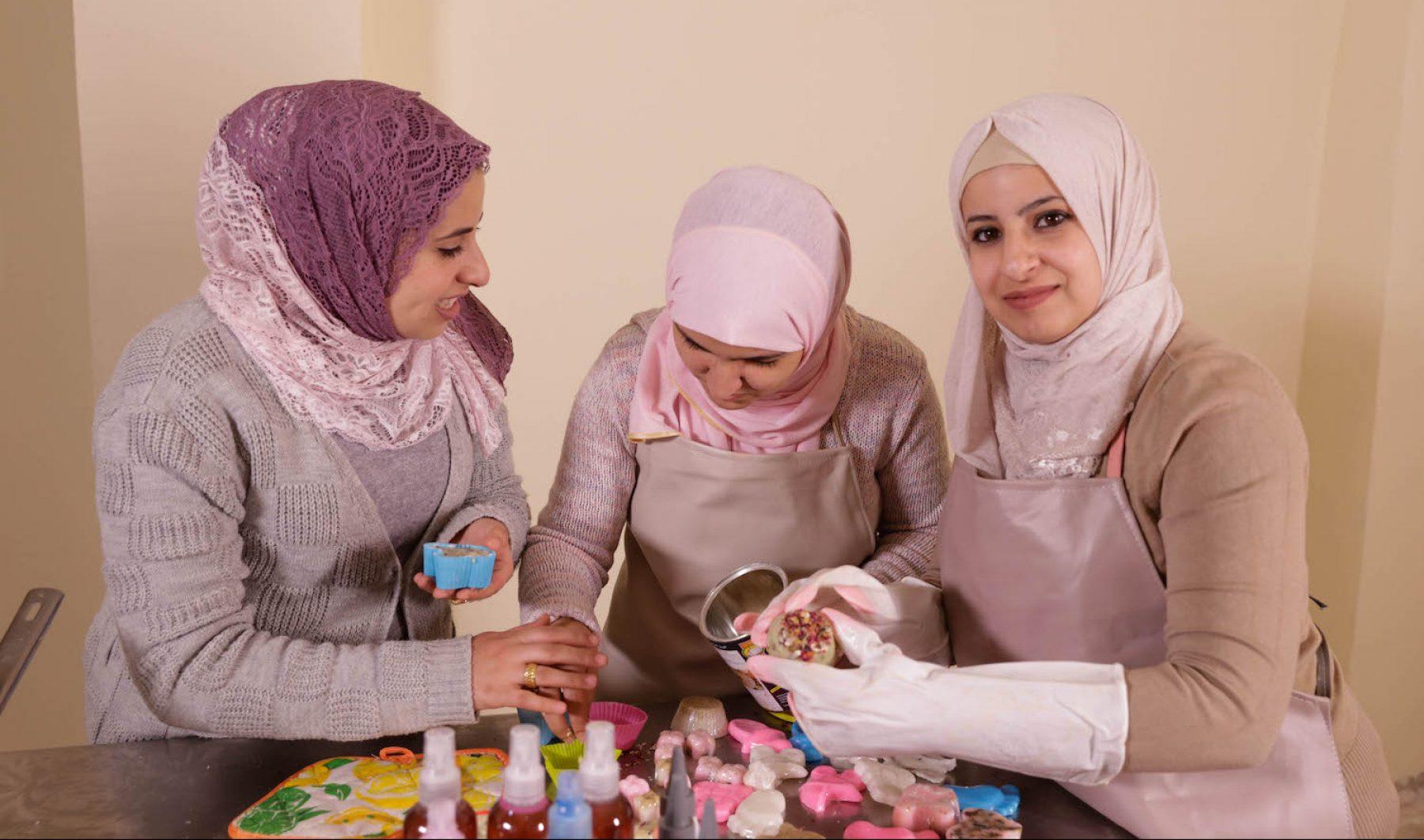 Image for Funding female entrepreneurs: the soap and oil maker from Jordan