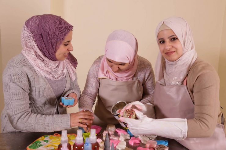 Image for Funding female entrepreneurs: the soap and oil maker from Jordan