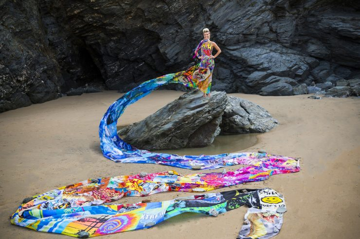 Image for Stemming the tide: the Wave of Waste dress