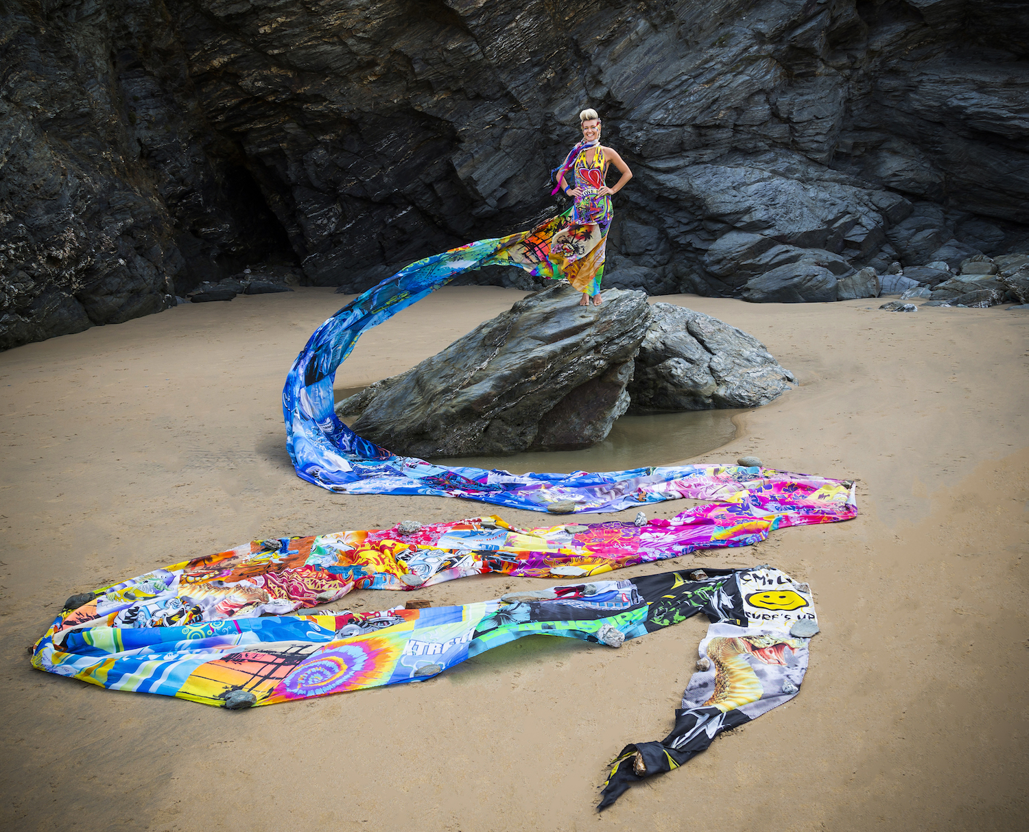 Stemming the tide: the Wave of Waste dress