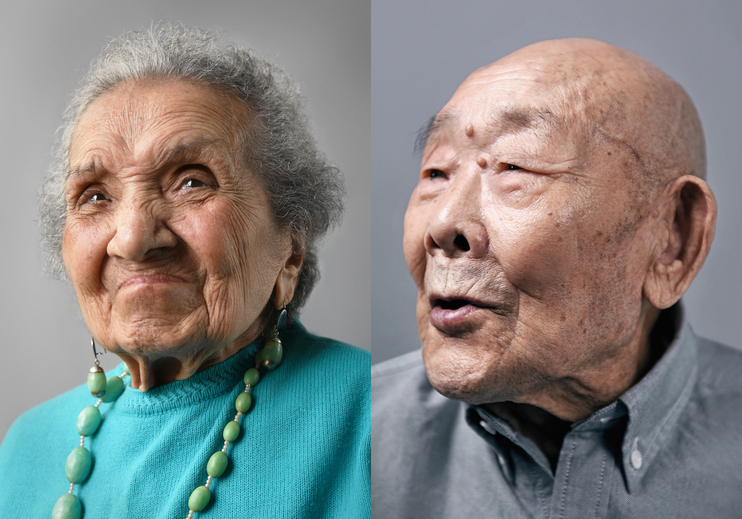 Ageing joyfully: portraits of people aged 100 and older