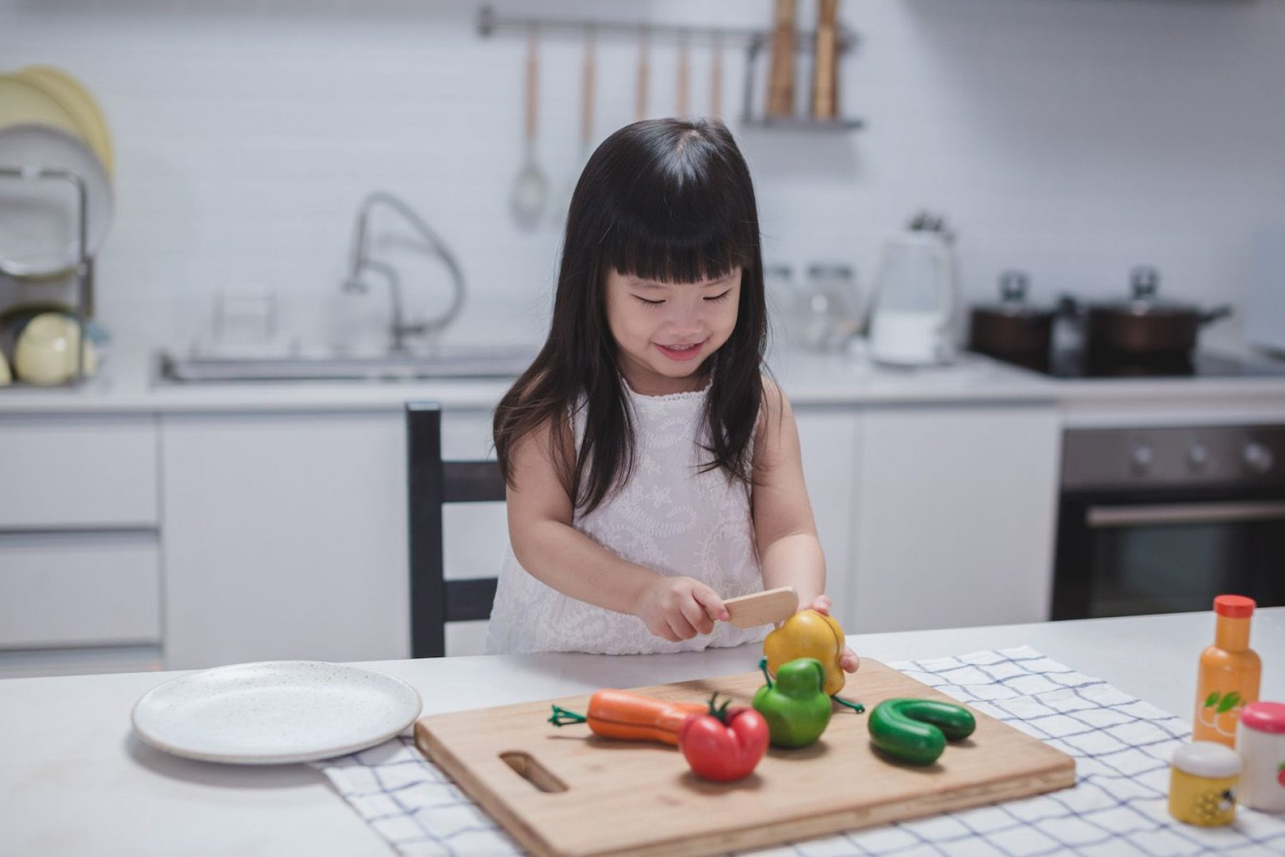 Image for Toy set encourages children to appreciate wonky fruit and veg