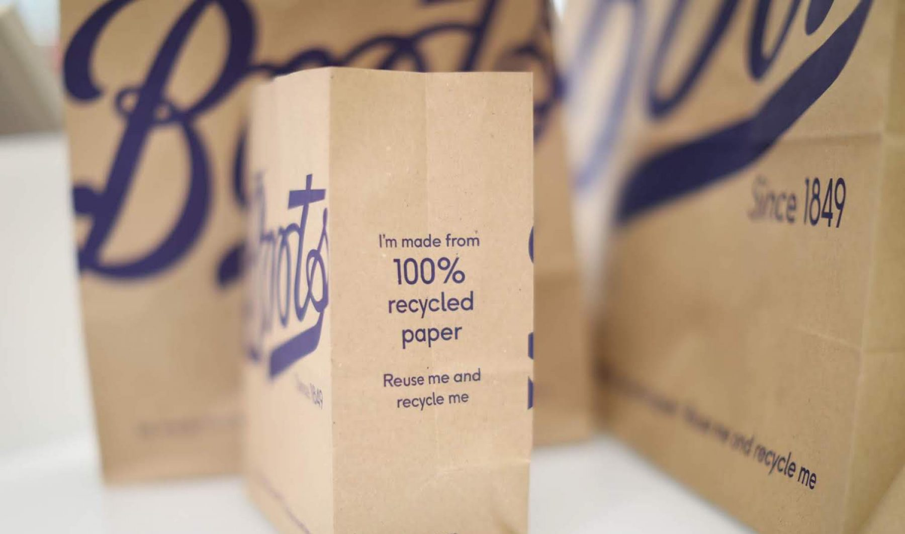 Image for Boots to replace plastic carrier bags with paper bags