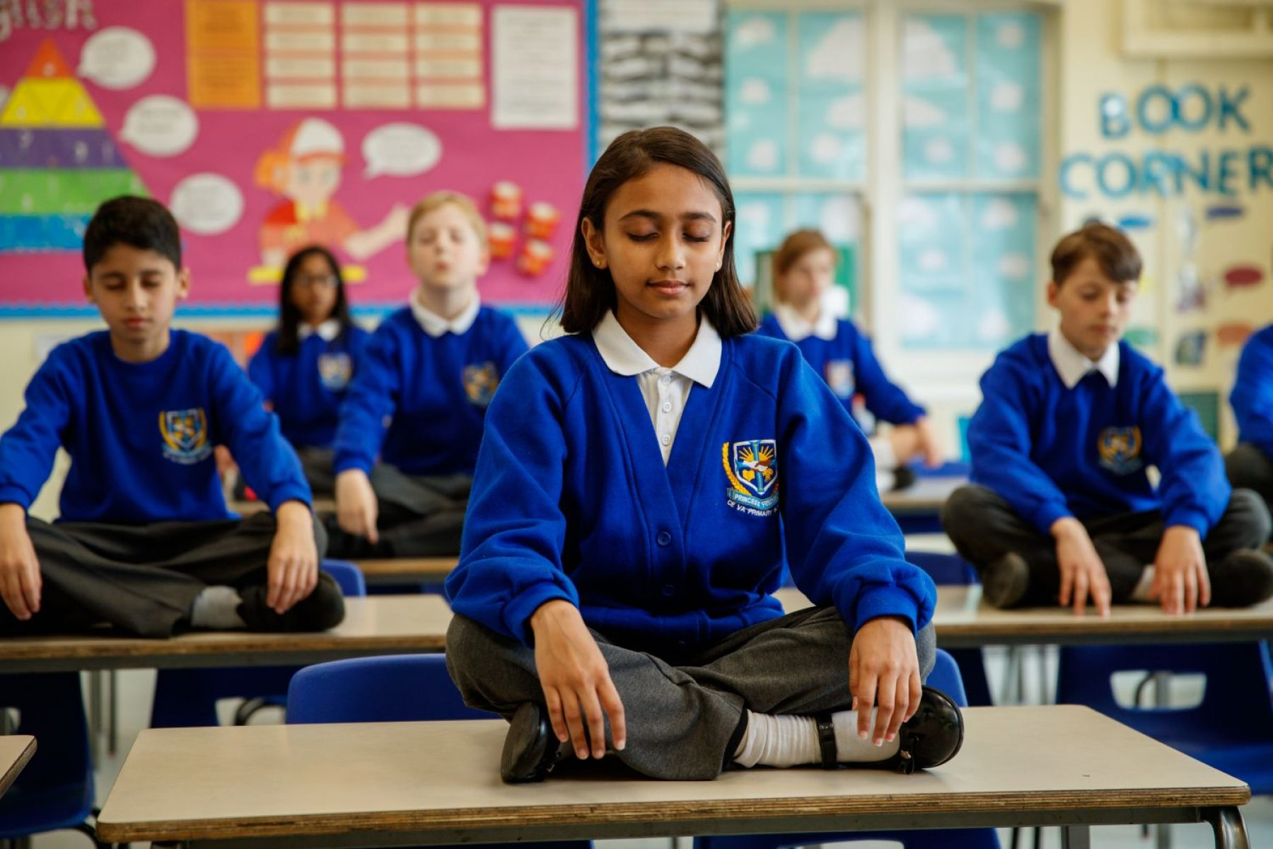 Image for Schools make time for mindfulness