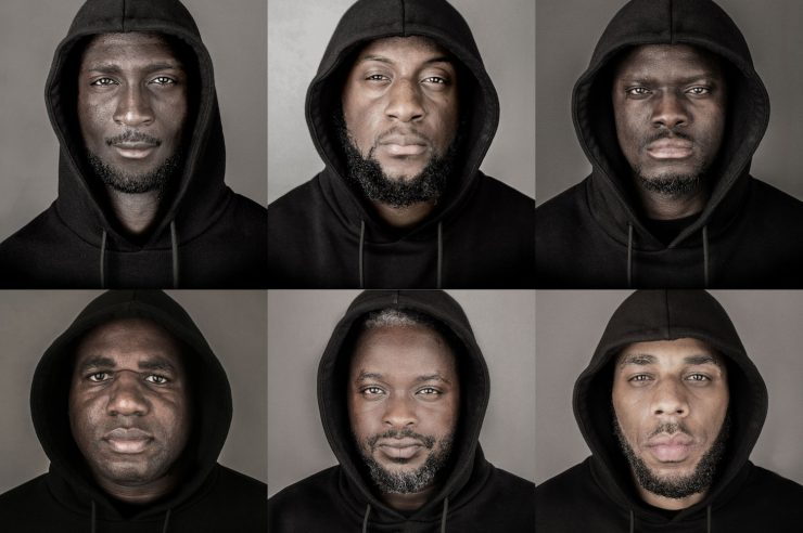 Image for 'I am not a stereotype'. The photo campaign that celebrates black men