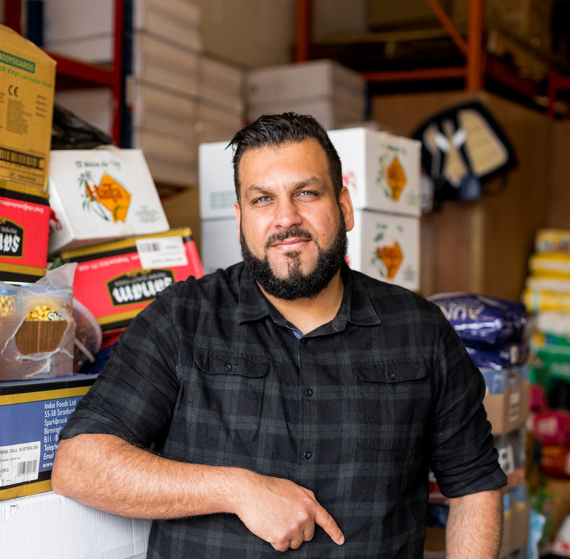The Muslim community group in Birmingham that helps neighbours, 'human to human'