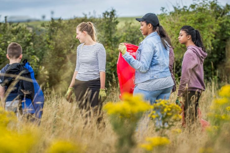 Image for 'World's largest' youth-led conservation scheme begins in Wales