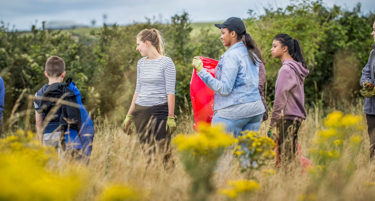 'World's largest' youth-led conservation scheme begins in Wales
