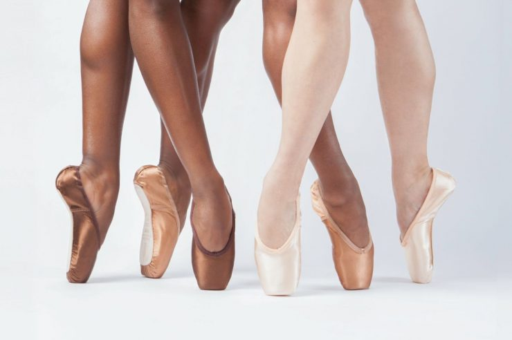Image for Black ballerinas finally get shoes to match their skin
