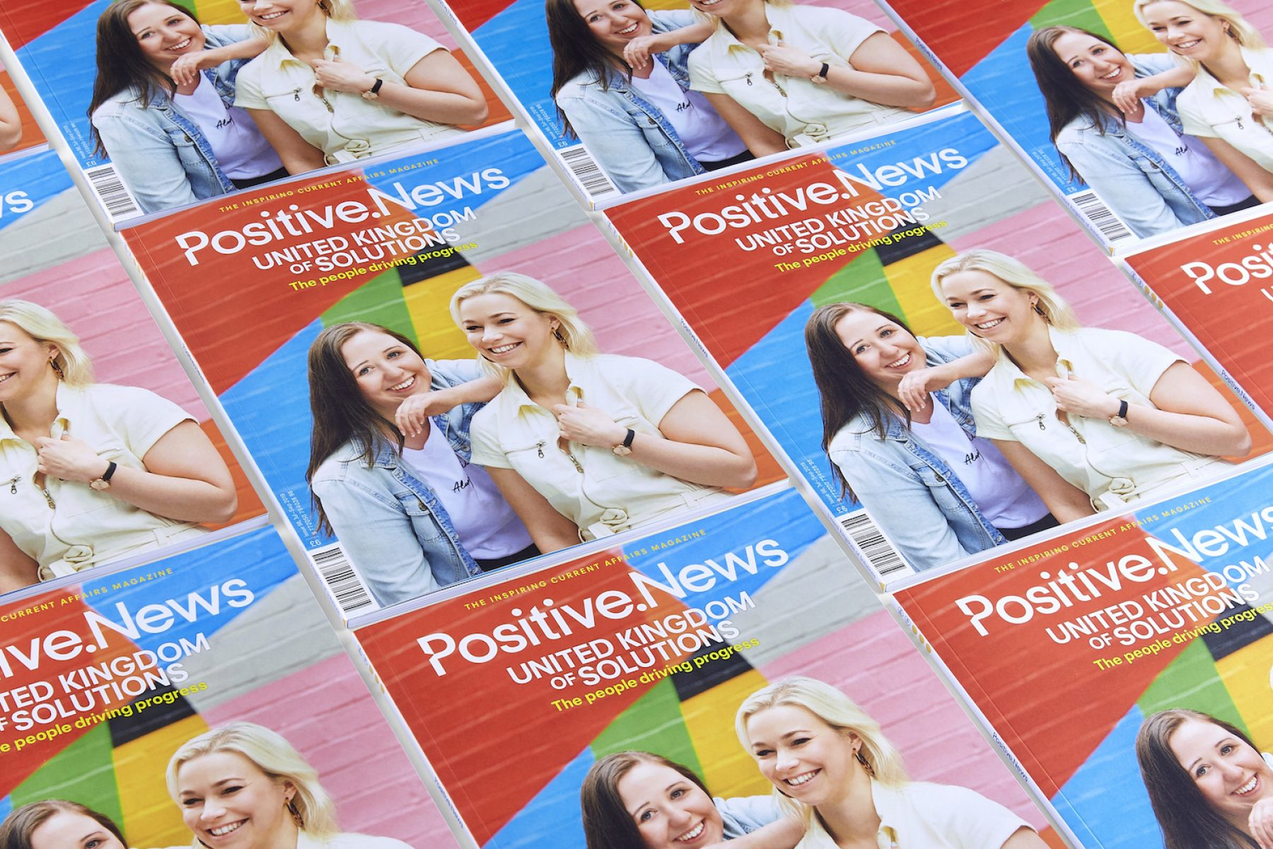 Image for A love song for the UK: latest issue of Positive News magazine celebrates what the UK can be proud of