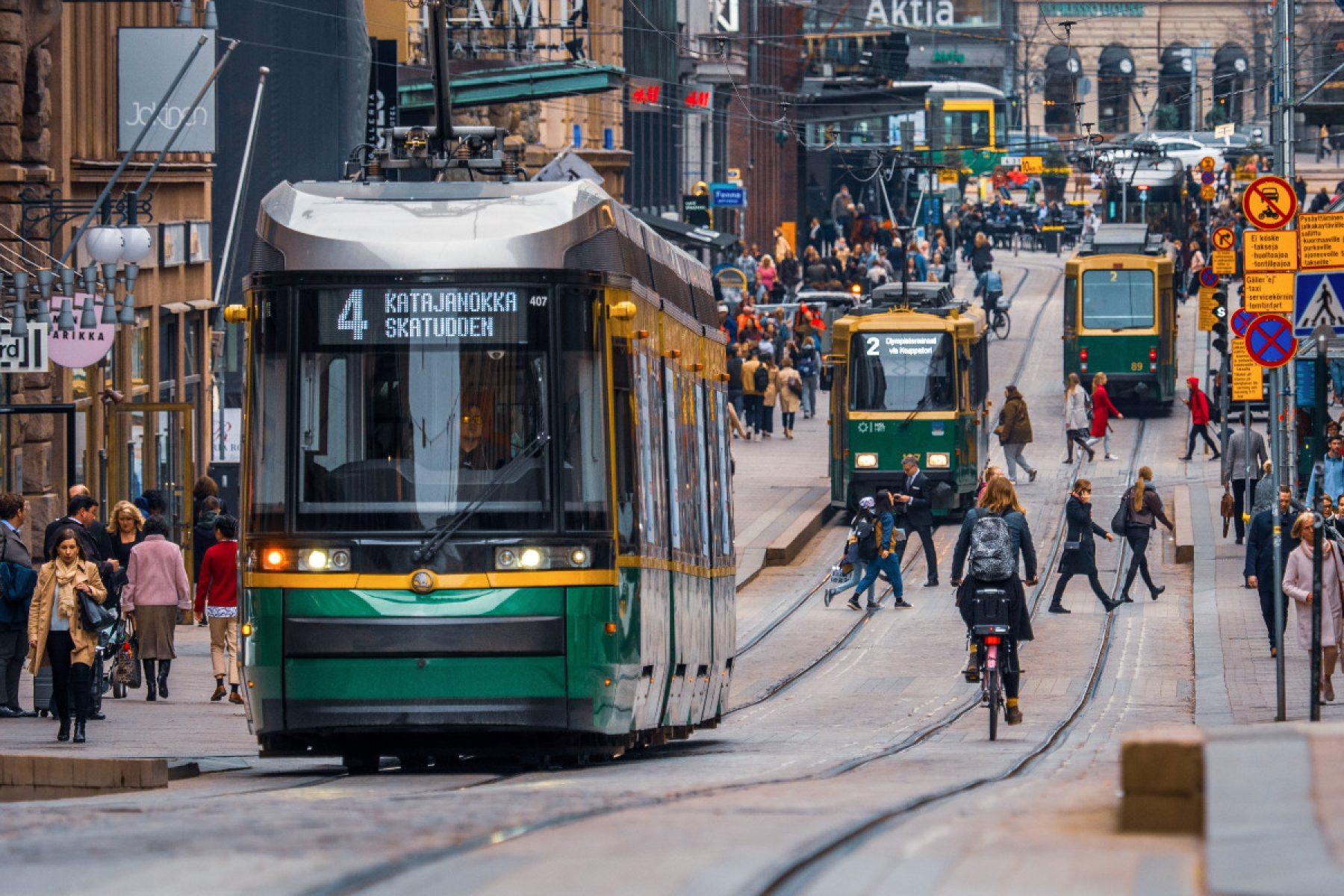 Image for Helsinki residents encouraged to reduce emissions with new 'Think Sustainably' app