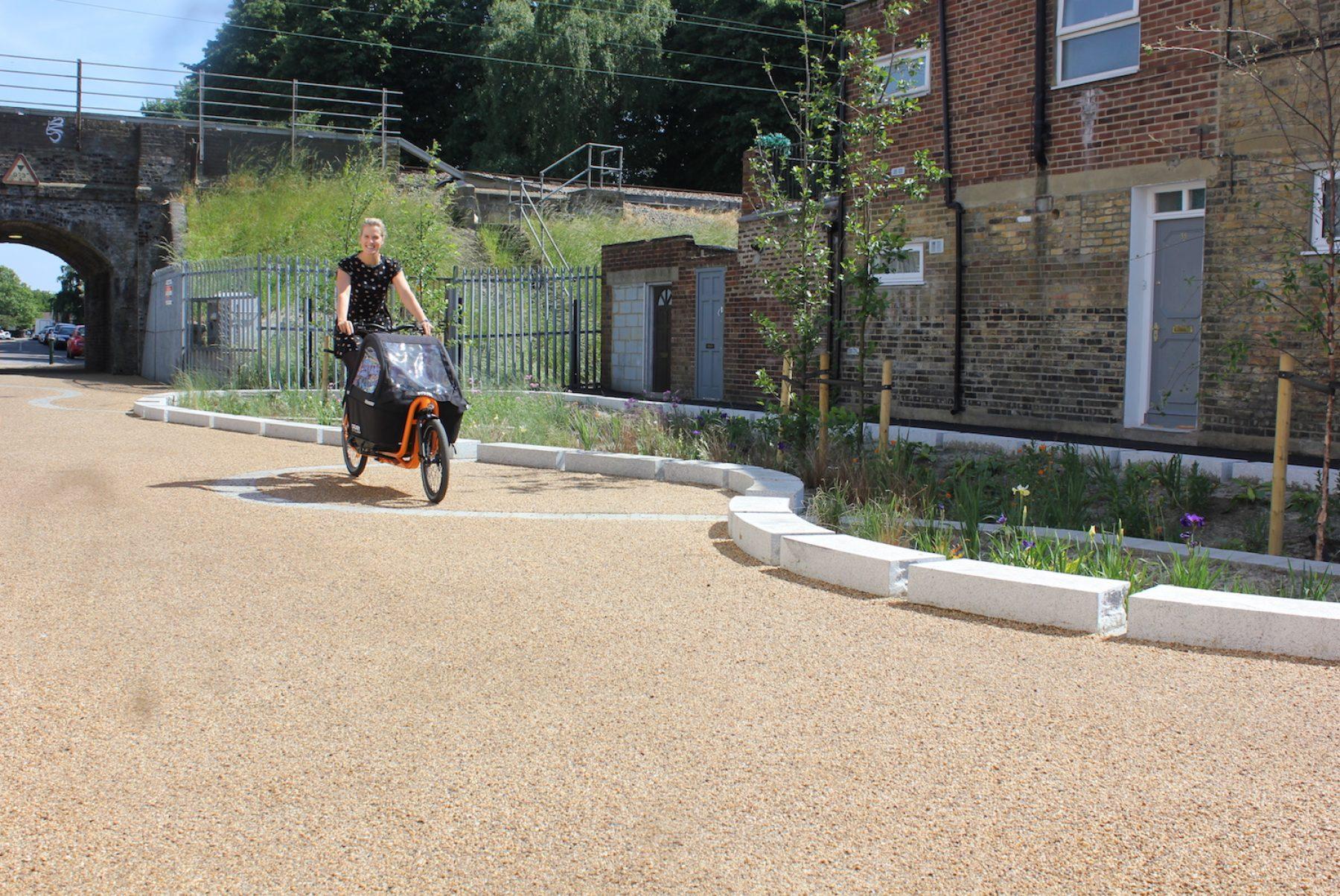 Image for London borough hails green transport scheme