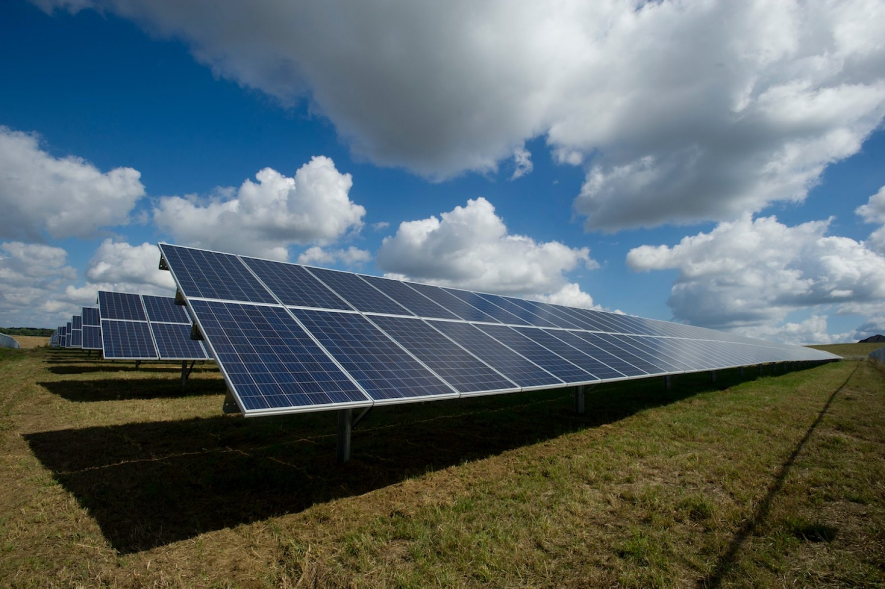 Image for Solar panels could balance the grid at night