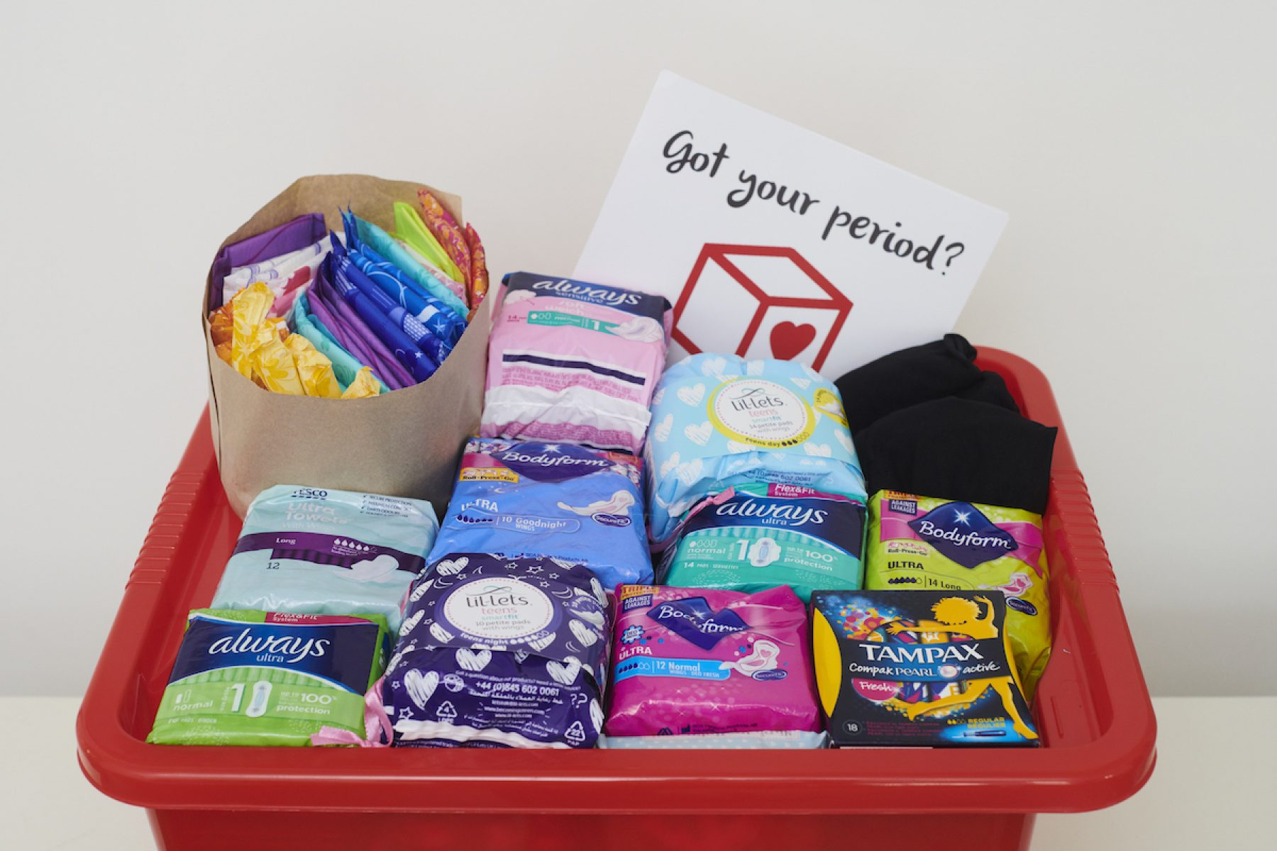 Image for Schools in England to offer free sanitary products