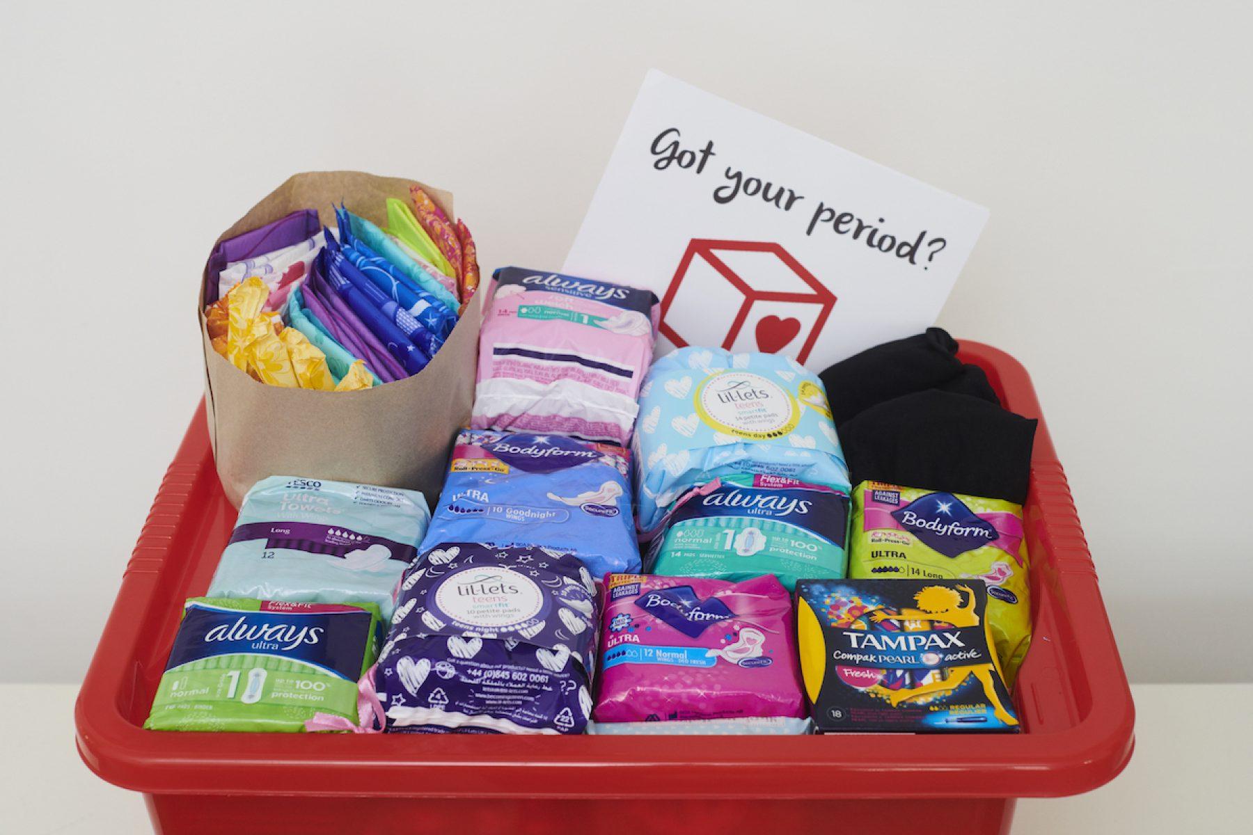 Image pour les écoles en Angleterre pour offrir des produits sanitaires gratuits