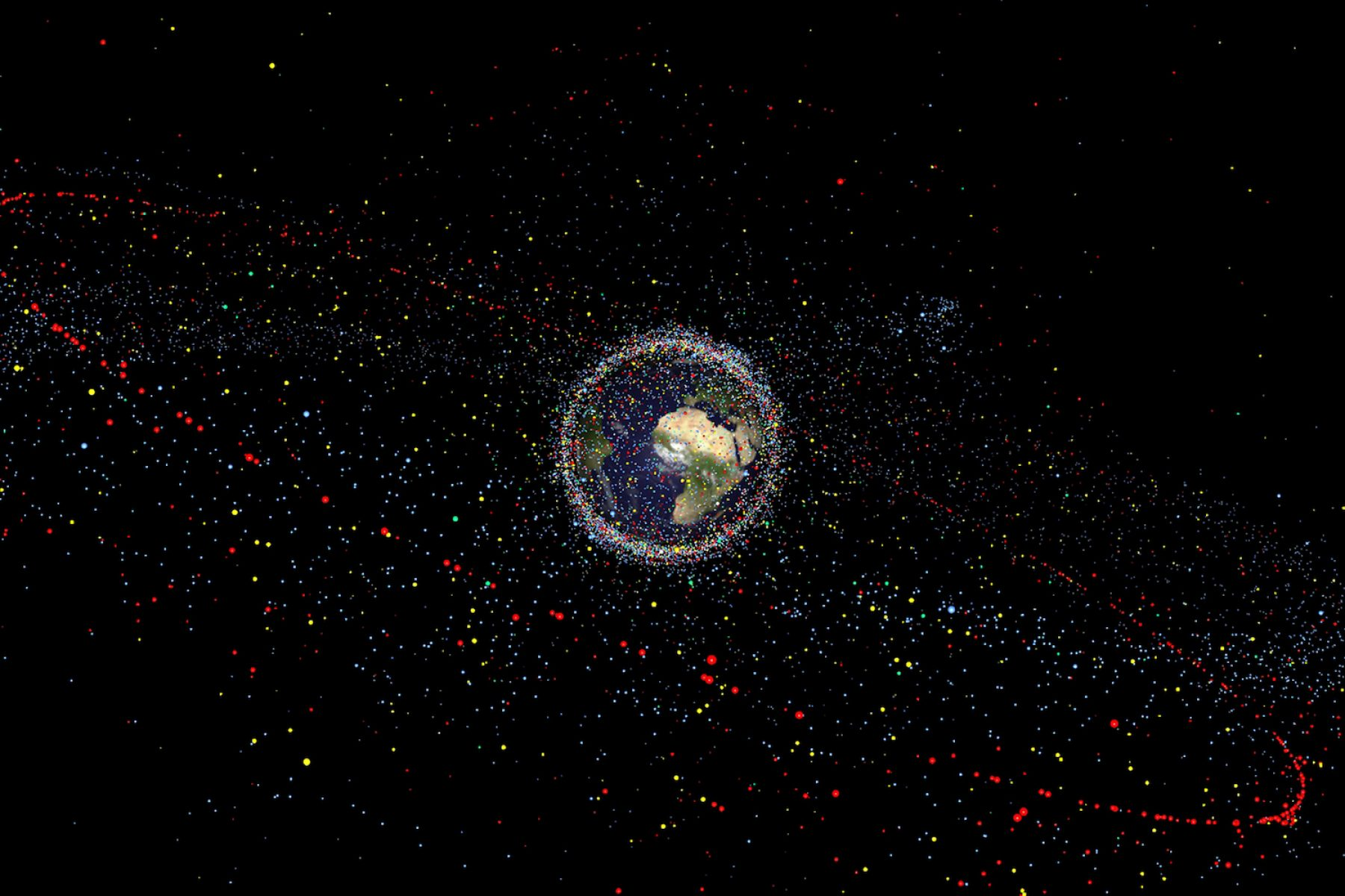 Image for European Space Agency to launch world's first space clean-up