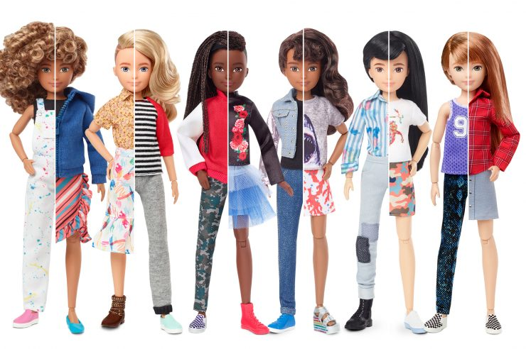Image for The makers of Barbie bring out gender-neutral dolls
