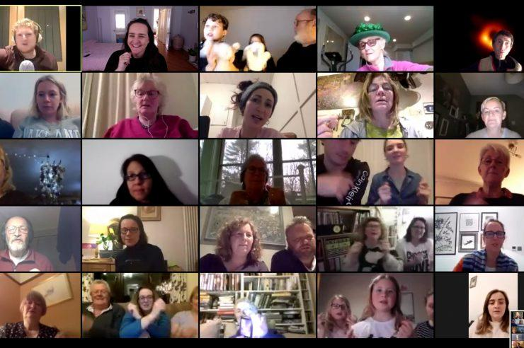 Image for Online choir spreads joy and togetherness during coronavirus outbreak