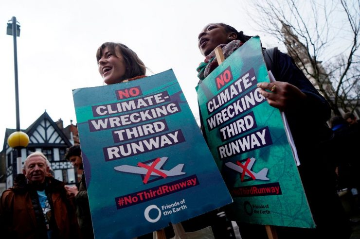 Image for 'A vital precedent': what the Heathrow ruling means for climate justice