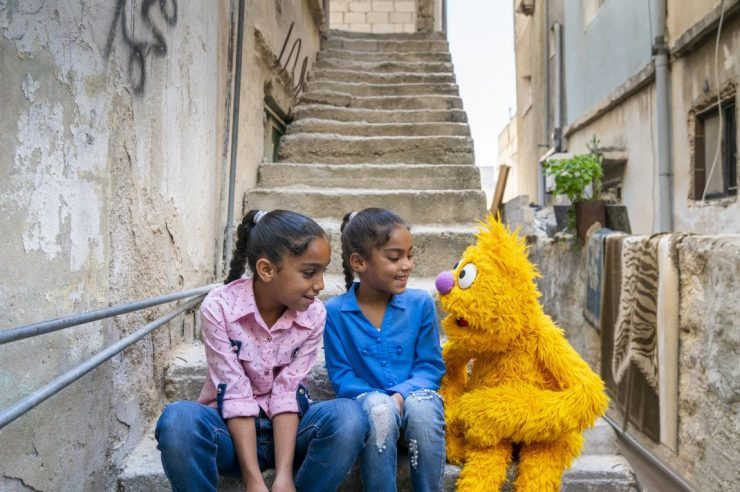 Image for How Sesame Street is bringing cheer to children affected by conflict