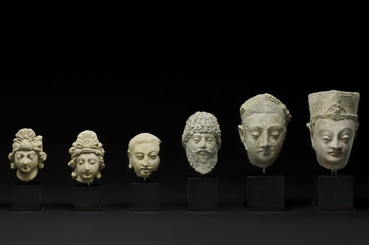 Image for Ancient sculptures stolen under the Taliban returned to Afghanistan