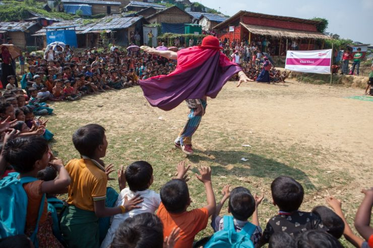 Image for 'Our need for joy is greater than ever': Clowns Without Borders wins Kindness Awards