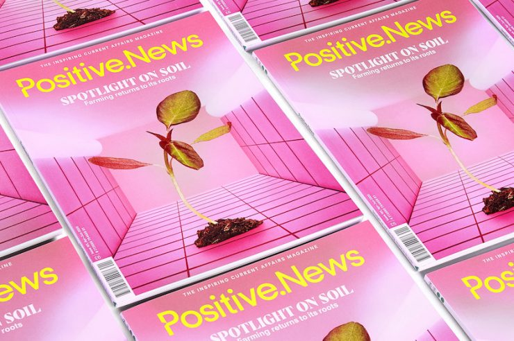 Image for New issue of Positive News magazine offers respite in uncertain times
