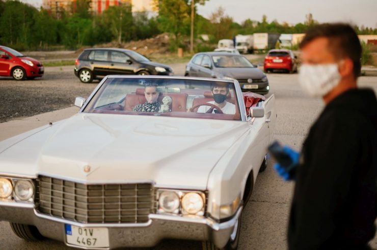 Image for How drive-in festivals are keeping culture alive in the Czech Republic