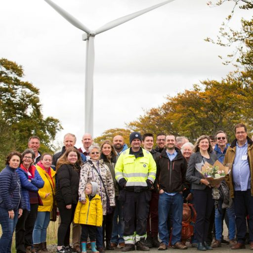Drumduff ist ein Windpark in West Lothian, Schottland