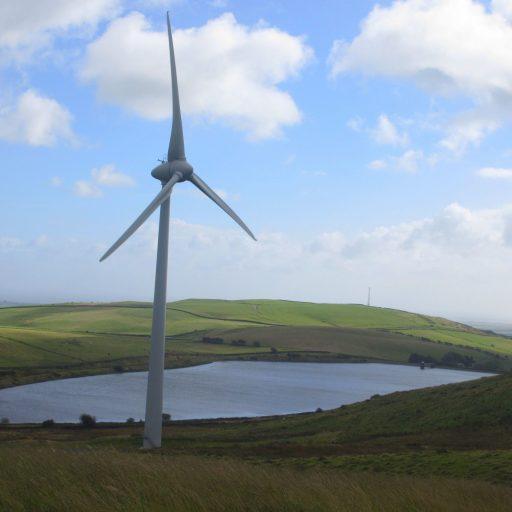Mean Moor is a three turbine wind farm based in Cumbria