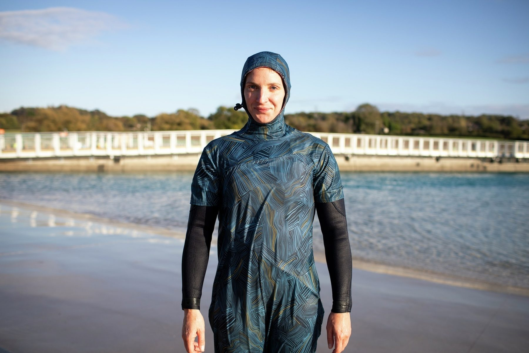 Image for Surf sensitively: the modest wetsuit inspired by Iran's women surfers