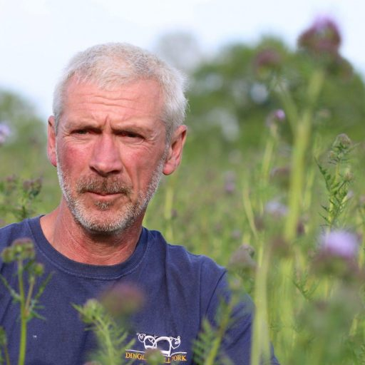 Paul Hayward and his brother Mark have planted enough flowers to feed one million bees